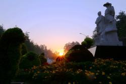 清晨游长白山美人松公园(9.15)